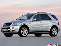 2006 Mercedes-Benz ML 63 AMG (W164) = 250 км/ч. 510 л.с. 5 сек.