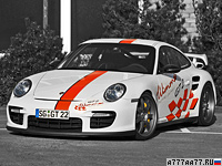 2009 Porsche 911 GT2 Wimmer RS GT2 Speed Biturbo = 378 км/ч. 827 л.с. 3.38 сек.