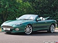 1999 Aston Martin DB7 Vantage Volante = 265 км/ч. 420 л.с. 5.1 сек.