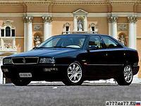 1998 Maserati Quattroporte Evoluzione V8 = 270 км/ч. 335 л.с. 5.8 сек.