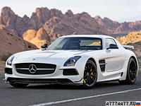 2013 Mercedes-Benz SLS AMG Black Series = 315 км/ч. 631 л.с. 3.6 сек.