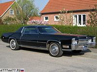 1970 Cadillac Fleetwood Eldorado IV = 205 км/ч. 400 л.с. 8.1 сек.