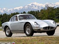 1954 Alfa Romeo 2000 Sportiva Scaglione Coupe = 220 км/ч. 140 л.с. 8.4 сек.