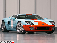 2009 Ford GT Wheelsandmore = 333 км/ч. 710 л.с. 3.5 сек.