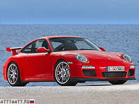 2009 Porsche 911 GT3 (997) = 312 км/ч. 435 л.с. 4.1 сек.