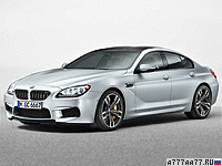 2013 BMW M6 Gran Coupe (F06) = 305 км/ч. 560 л.с. 4.2 сек.