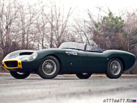1959 Lister Jaguar Costin Roadster = 250 км/ч. 260 л.с. 5 сек.