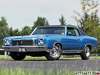 1970 Chevrolet Monte Carlo SS 454 = 206 км/ч. 450 л.с. 5.8 сек.