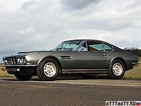 1970 Aston Martin DBS V8 = 255 км/ч. 381 л.с. 5.5 сек.