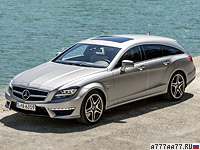 2012 Mercedes-Benz CLS 63 AMG Shooting Brake Edition 1 = 300 км/ч. 557 л.с. 4.3 сек.
