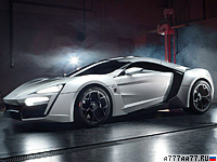 2013 W Motors Lykan Hypersport = 390 км/ч. 750 л.с. 2.8 сек.