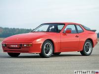 1982 Porsche 944 Coupe = 220 км/ч. 163 л.с. 7.4 сек.