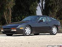 1985 Porsche 944 Turbo = 246 км/ч. 220 л.с. 6 сек.