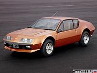 1976 Renault Alpine A310 V6 = 222 км/ч. 150 л.с. 7.4 сек.