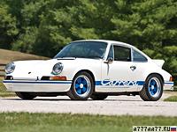 1972 Porsche 911 Carrera RS 2.7 Sport (901) = 245 км/ч. 210 л.с. 5.8 сек.