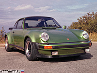1975 Porsche 911 Turbo 3.0 Coupe (930) = 246 км/ч. 260 л.с. 6.1 сек.