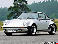 1978 Porsche 911 Turbo 3.3 Coupe (930) = 261 км/ч. 300 л.с. 5 сек.