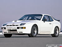 1981 Porsche 924 Carrera GTS (937) = 250 км/ч. 245 л.с. 6.2 сек.