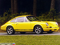1967 Porsche 911 R 2.0 Coupe (901) = 250 км/ч. 210 л.с. 6 сек.