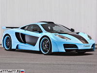 2013 McLaren MP4-12C Hamann memoR Blue Edition = 333 км/ч. 625 л.с. 3.1 сек.