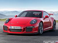 2013 Porsche 911 GT3 (991) = 315 км/ч. 475 л.с. 3.5 сек.