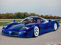 1997 Nissan R390 GT1 = 280 км/ч. 550 л.с. 3.9 сек.