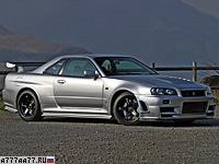 2005 Nissan Skyline GT-R Nismo Z-Tune (R34) = 290 км/ч. 500 л.с. 4 сек.