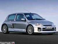 2001 Renault Clio V6 Sport (Mk1) = 237 км/ч. 226 л.с. 6.1 сек.