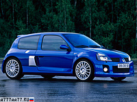 2003 Renault Clio V6 Sport (Mk2) = 246 км/ч. 255 л.с. 6 сек.