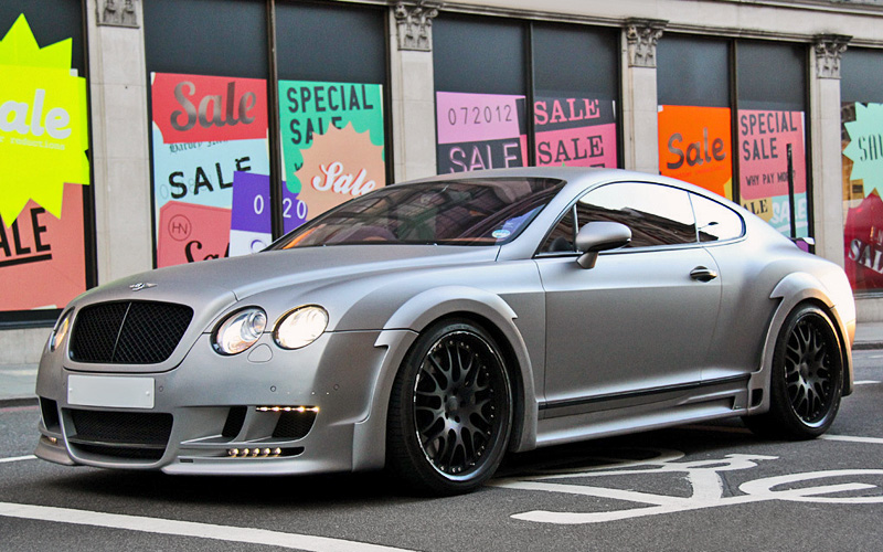 2009 Bentley Continental GT Speed Hamann Imperator