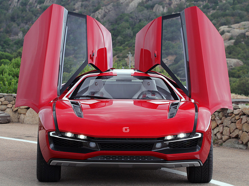 2013 ItalDesign Giugiaro Parcour