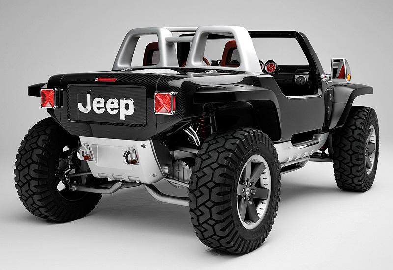 концепт кар от jeep hurricane