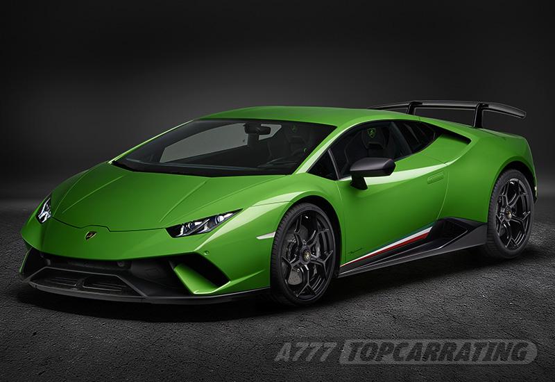 2018 Lamborghini Huracan Performante характеристики