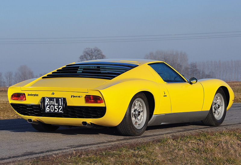 1967 Lamborghini Miura P400 характеристики фото цена
