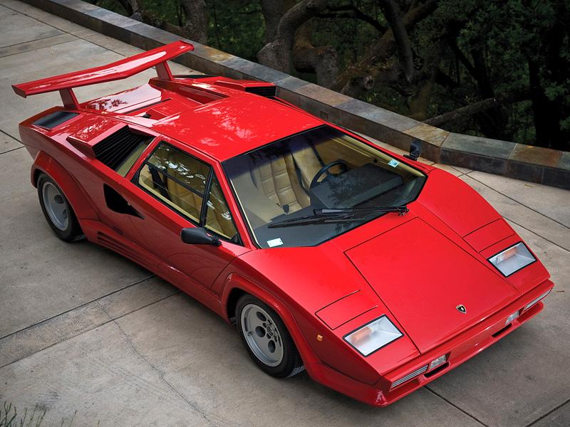 1985 Lamborghini Countach 5000qv характеристики фото цена