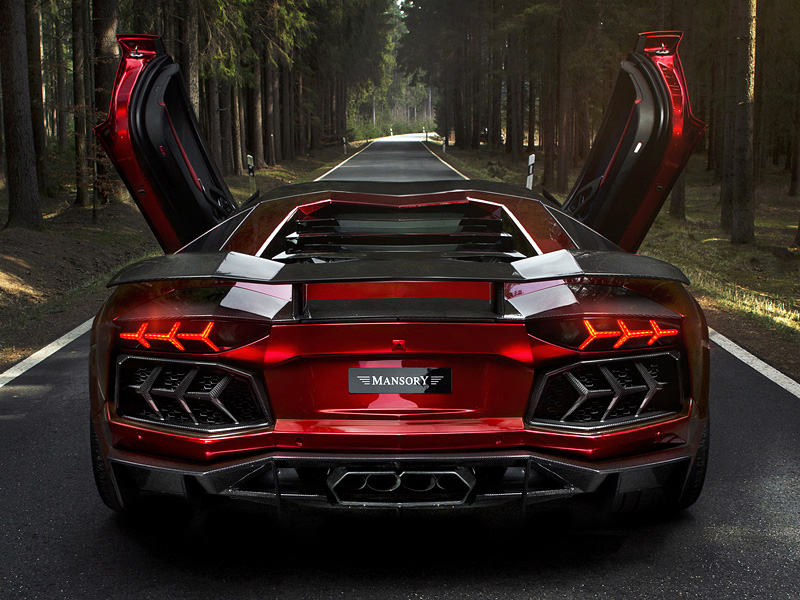 2012 Lamborghini Aventador LP700-4 Mansory
