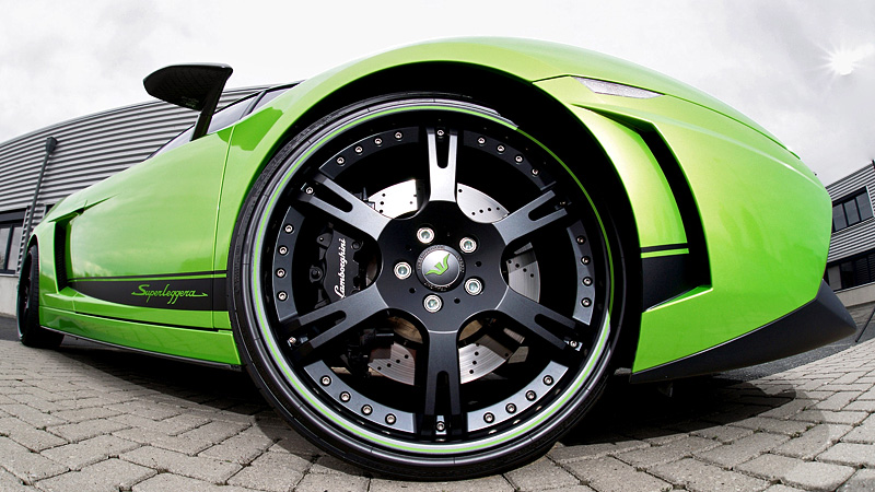 2012 Lamborghini Gallardo LP620-4 Superleggera Wheelsandmore Green Beret
