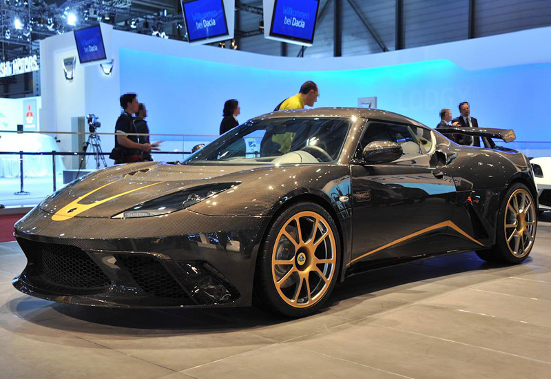 2012 Lotus Evora GTE F1 Team Limited Edition