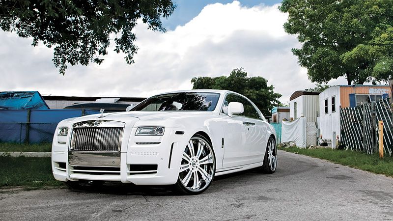 2010 Rolls-Royce Ghost Mansory White Ghost Limited