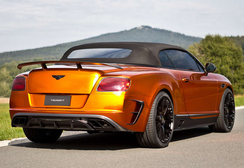 2015 Bentley Continental GTC Mansory