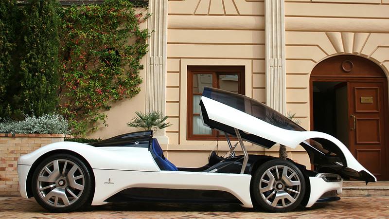 2005 maserati birdcage 75th pininfarina concept 3