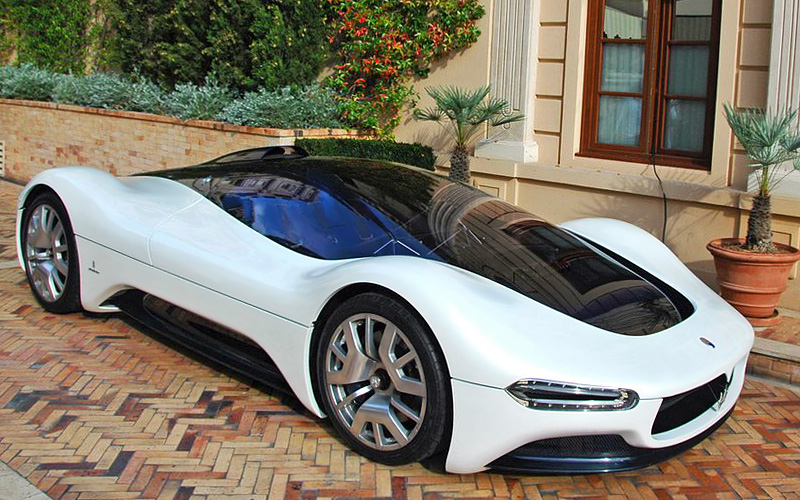 2005 Maserati Birdcage 75th Pininfarina Concept ...