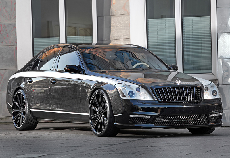 2014 Maybach 57S Knight Luxury
