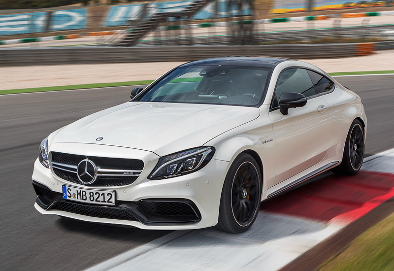 2016 Mercedes-AMG C 63 S Coupe