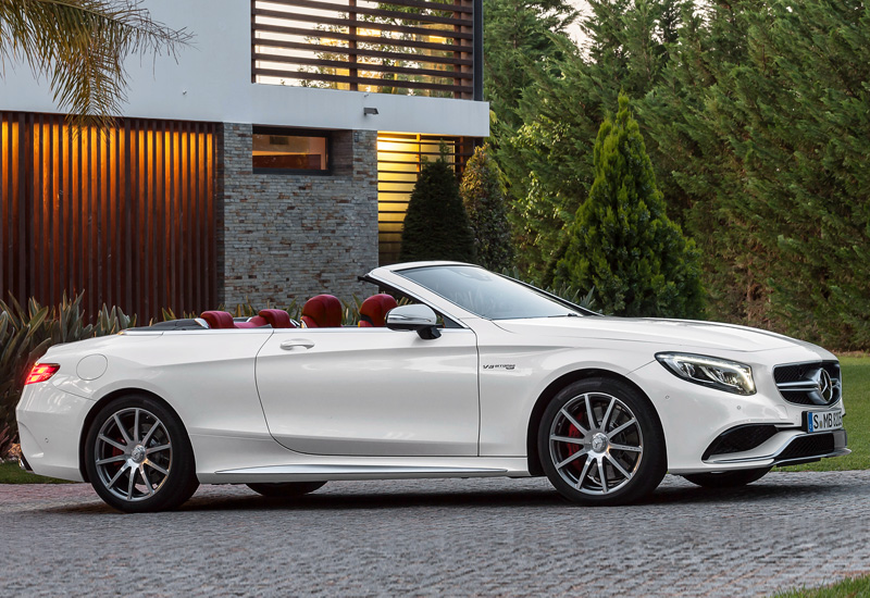 2016 Mercedes-AMG S 63 Cabriolet 4Matic