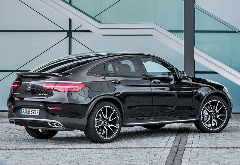 2017 Mercedes-AMG GLC 43 Coupe