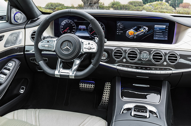 2018 Mercedes-AMG S 63 4Matic+ (V222)