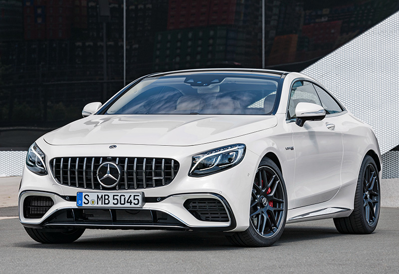 2018 Mercedes-AMG S 63 Coupe 4Matic+