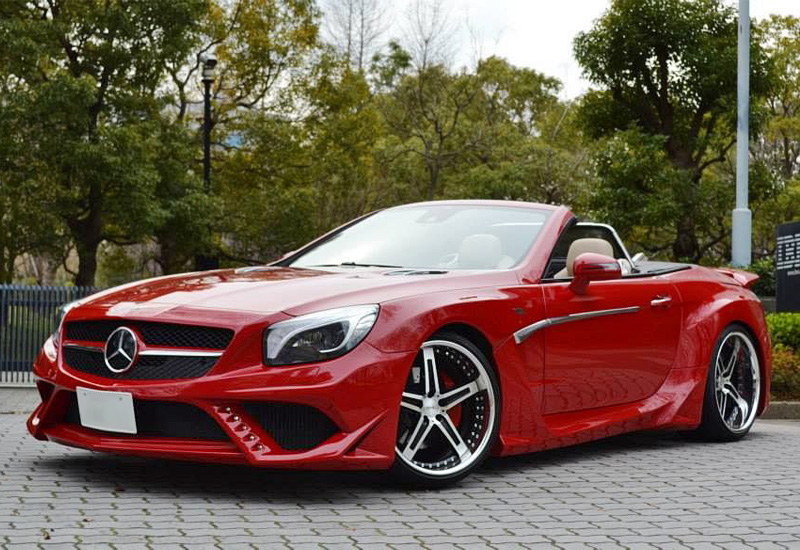 2014 Mercedes-Benz SL 500 SQUALO VITT Performance