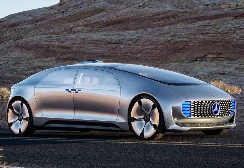 10 Best Luxury Cars Under 35 000 2015: 2015 Mercedes-Benz F 015 Luxury In Motion